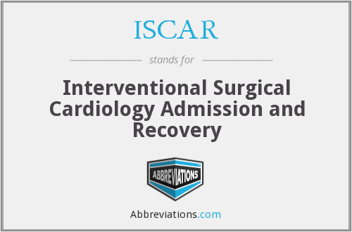 ISCAR - Interventional Surgical Cardiology Admission and Recovery