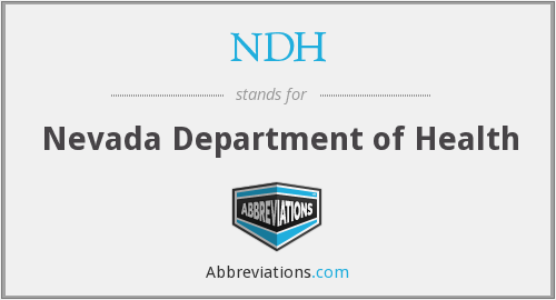 NDH - Nevada Department of Health