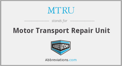 What does MTRU stand for?