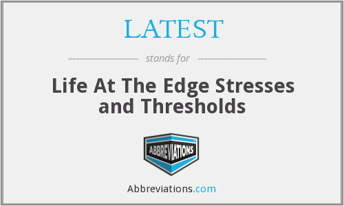 What does stresses stand for?