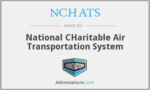 What does NCHATS stand for?