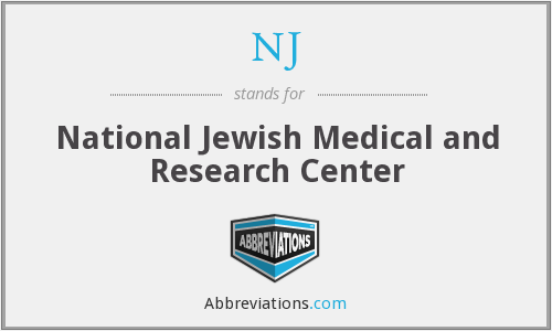 NJ - National Jewish Medical and Research Center
