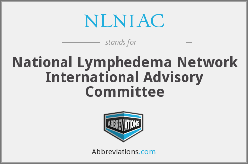NLNIAC - National Lymphedema Network International Advisory Committee