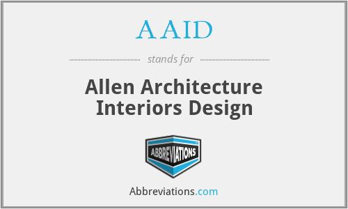 AAID - Allen Architecture Interiors Design