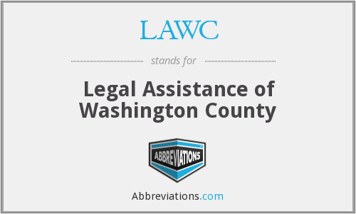 LAWC - Legal Assistance of Washington County