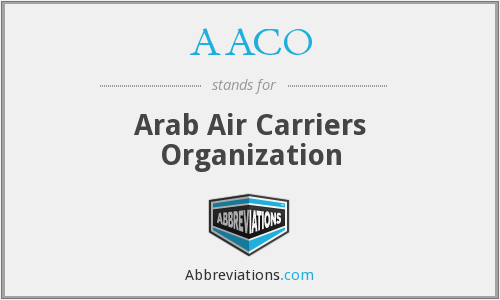 What does AACO stand for?