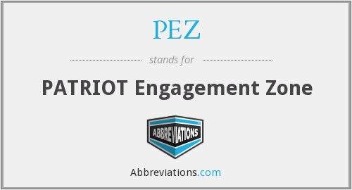 PEZ - PATRIOT Engagement Zone