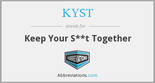What does KYST stand for?