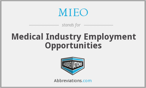What does MIEO stand for?