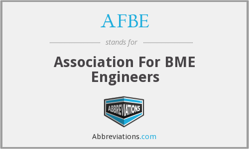 AFBE - Association For BME Engineers