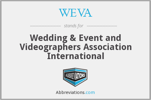 WEVA - Wedding & Event and Videographers Association International