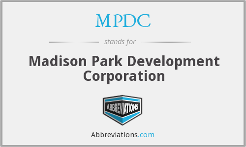 MPDC - Madison Park Development Corporation