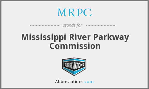 MRPC - Mississippi River Parkway Commission