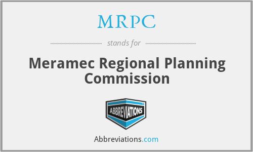 MRPC - Meramec Regional Planning Commission