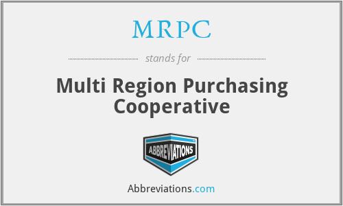 MRPC - Multi Region Purchasing Cooperative