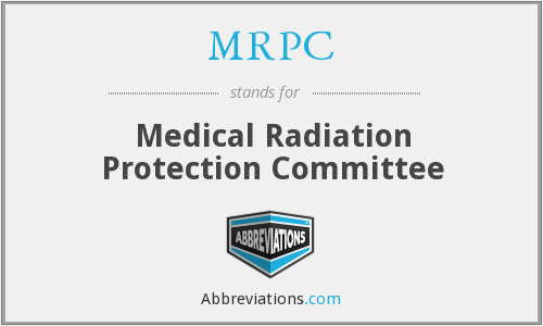 MRPC - Medical Radiation Protection Committee