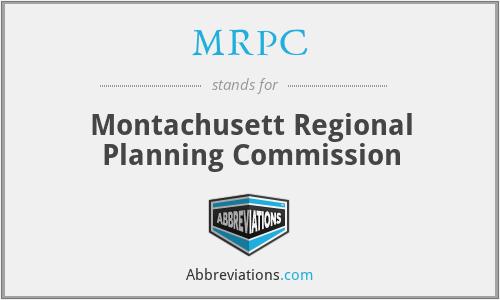 MRPC - Montachusett Regional Planning Commission