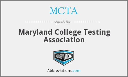 MCTA - Maryland College Testing Association