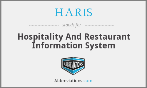 What does HARIS stand for?