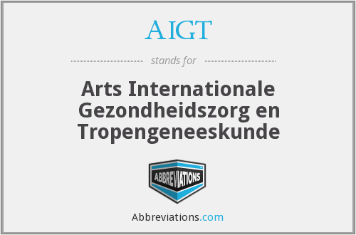 What does AIGT stand for?