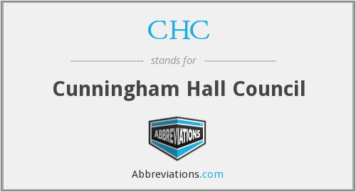 CHC - Cunningham Hall Council