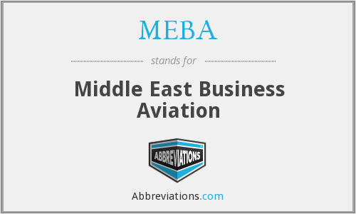 MEBA - Middle East Business Aviation