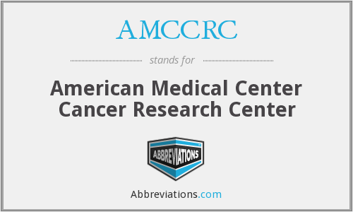 What does AMCCRC stand for?