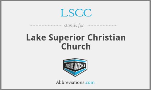 LSCC - Lake Superior Christian Church