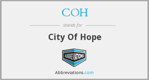 COH - City Of Hope