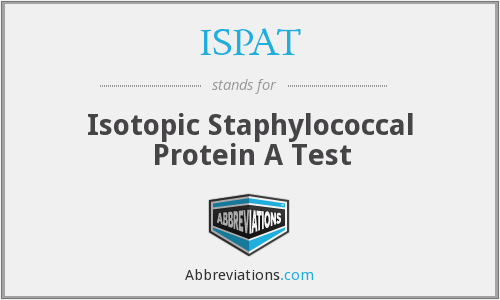 ISPAT - Isotopic Staphylococcal Protein A Test