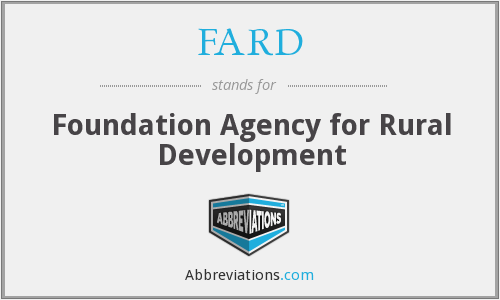 What does FARD stand for?
