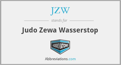 JZW - Judo Zewa Wasserstop