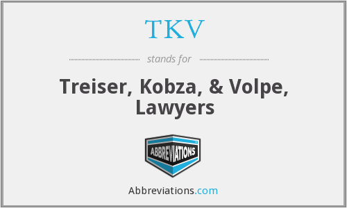 TKV - Treiser, Kobza, & Volpe, Lawyers