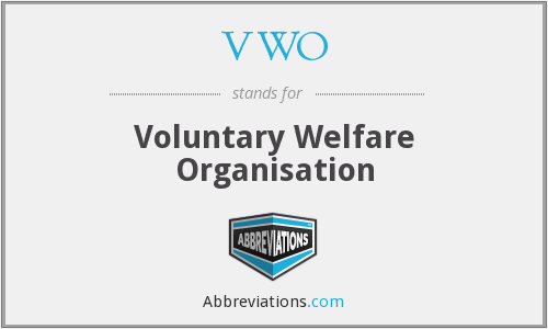 VWO - Voluntary Welfare Organisation