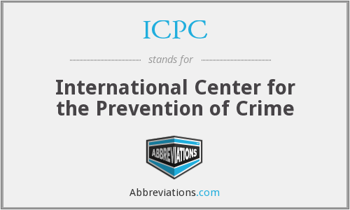 ICPC - International Center for the Prevention of Crime
