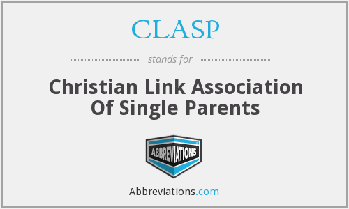 CLASP - Christian Link Association Of Single Parents