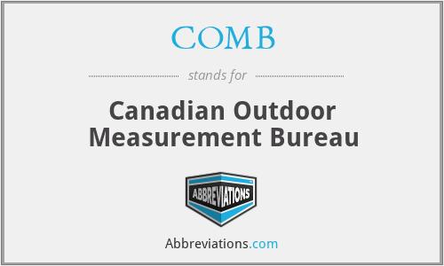 COMB - Canadian Outdoor Measurement Bureau