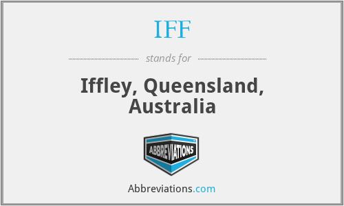 IFF - Iffley, Queensland, Australia