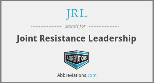 JRL - Joint Resistance Leadership