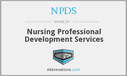 NPDS - Nursing Professional Development Services