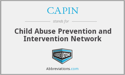 CAPIN - Child Abuse Prevention and Intervention Network