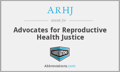 What does ARHJ stand for?