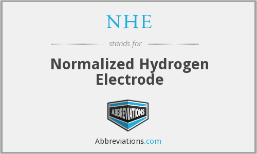 NHE - Normalized Hydrogen Electrode