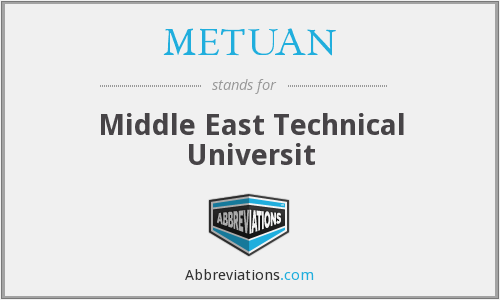 What does METUAN stand for?