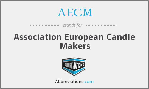 AECM - Association European Candle Makers