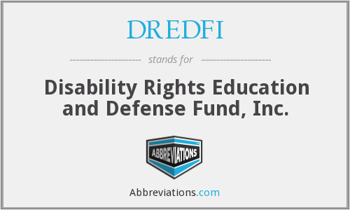 What does DREDFI stand for?