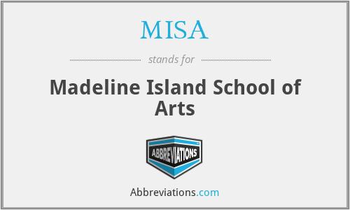 MISA - Madeline Island School of Arts