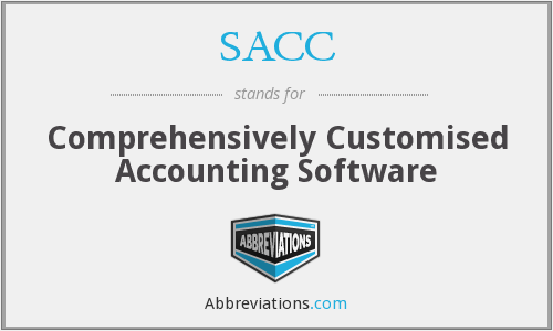 SACC - Comprehensively Customised Accounting Software