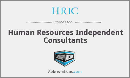 HRIC - Human Resources Independent Consultants