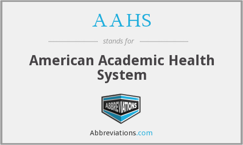 AAHS - American Academic Health System